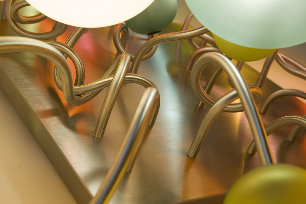 sculpture 25 branches-détail